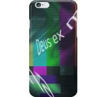 Deus Ex Machina iPhone Case/Skin