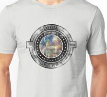 Distressed Geometric Las Vegas Cityscape  Unisex T-Shirt
