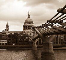 Millenium Bridge, London by John Light