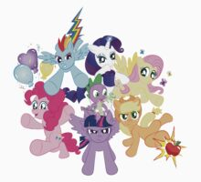 My Little Pony FiM - The Mane Six Kids Clothes
