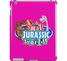 It's a Small Jurassic World (Logo w dinos) iPad Case/Skin