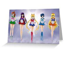 Sailor moon Crystal Greeting Card