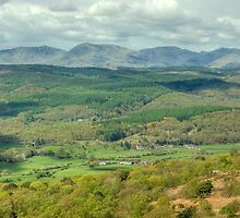 Rusland Valley and The Coniston Fells by VoluntaryRanger