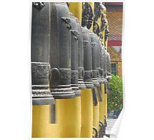 Bells at Doi Suthep, Thailand Poster