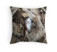 Angel Feather Throw Pillow