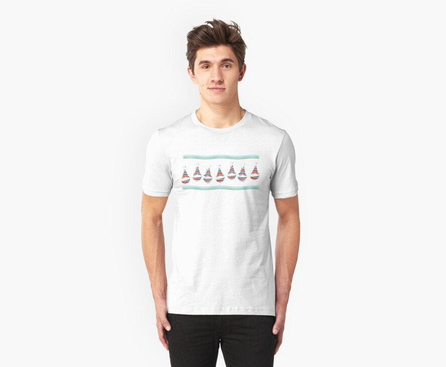 Sailboats T Shirt by simpsonvisuals
