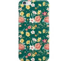 Blooming Flowers Pattern iPhone Case/Skin