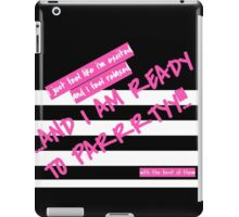Things for Your Bachelorette Plane Ride to Vegas iPad Case/Skin