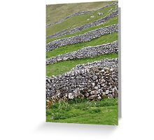 The Dales Divided Greeting Card