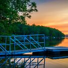 Sunset at Kearney Lake by kenmo