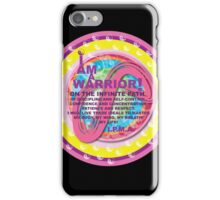 Infinite Path Martial Arts - Youth Creed #3 iPhone Case/Skin