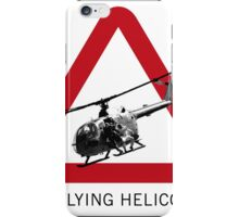 SPECTRE - Low Flying Helicopter iPhone Case/Skin