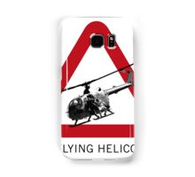 SPECTRE - Low Flying Helicopter Samsung Galaxy Case/Skin