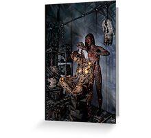 Cyberpunk Painting 058 Greeting Card