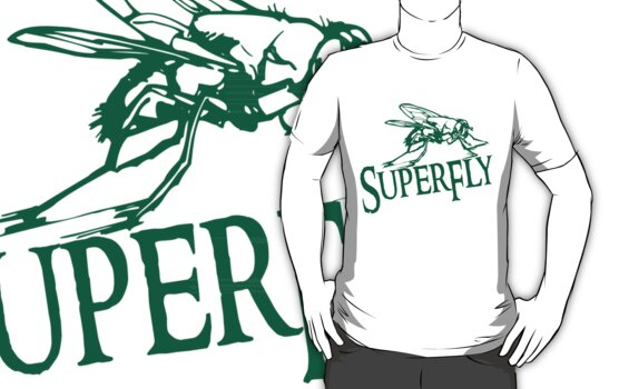 SuperFly T-Shirt by jay007