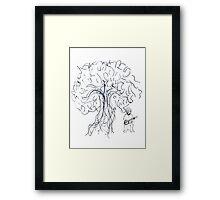 Banjo Tree 2 Framed Print