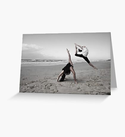 lonely dancers 2 Greeting Card