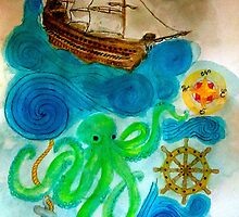In A Nautical Dream by Jen Hallbrown