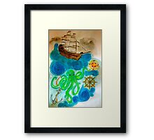 In A Nautical Dream Framed Print