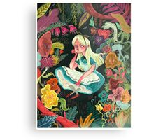 Alice in Wonder Metal Print