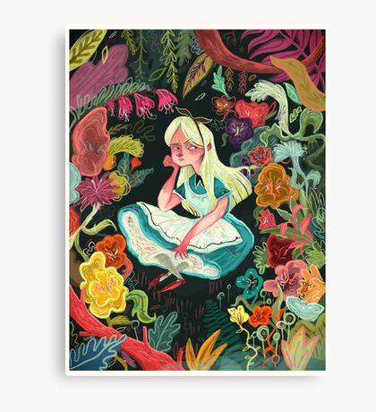Alice in Wonder Canvas Print