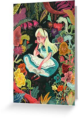 Alice in Wonder by Karl James Mountford