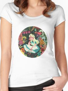 Alice in Wonder Women's Fitted Scoop T-Shirt