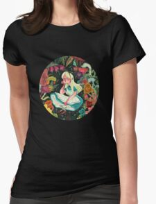 Alice in Wonder Womens Fitted T-Shirt