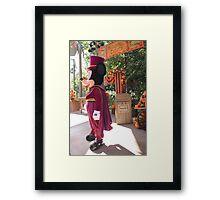 Halloween Mickey Framed Print
