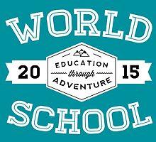 World School 2015 (White!) by WorldSchool