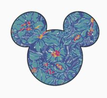 Lilly Pulitzer Inspired Mouse Ears Mai Tai Kids Clothes