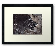 An Angry Galaxy Framed Print