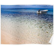 Fijian beach Poster