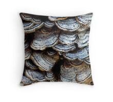 Fungus Fresco  Throw Pillow
