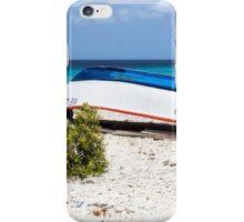 Bonaire. Old Boat iPhone Case/Skin