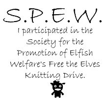SPEW Knitting Drive by etaworks