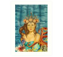 Amphitrite - Queen of the Ocean Art Print