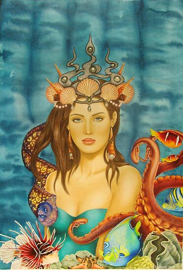 Amphitrite - Queen of the Ocean by lanadi