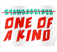 One of a Kind (NOT Standardized!) Poster