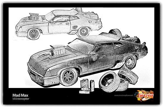 Mad Max -V8 Interceptor by ea-photos