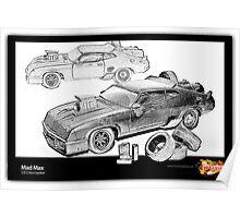 Mad Max -V8 Interceptor Poster