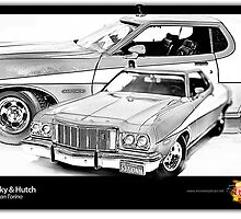 Starsky & Hutch - Ford Gran Torino by ea-photos