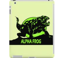 Alpha Frog iPad Case/Skin