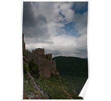Puilaurens castle. Poster