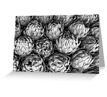 Artichokes Have Lovely Lines! Greeting Card