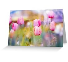 Dreamy Tulips Greeting Card