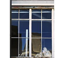 The Cardboard Personalities of Inner City Apartments Photographic Print