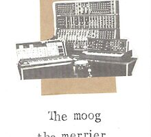 The Moog The Merrier by bluespecsstudio