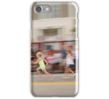 Young Girls Foot Race iPhone Case/Skin