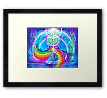tantric union on Sirius Framed Print